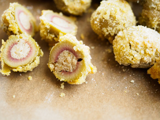Olive Ascolane al forno con OLIVE VERDI BIO